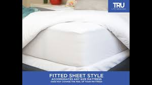 Dust Mite Bed Covers by Full Size Dust Mite Mattress Cover Youtube