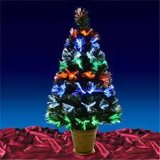 Fiber Optic Christmas Trees Walmart by Fake Xmas Tree Walmart Image Information