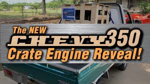 Auto Body Q&A + The New Chevy 350 Crate Engine Reveal! - YouTube Gm 19210008 Engine Assembly Crate Chevy 350 330hp With Out With The Old In New Doug Jenkins Garage Edelbrockcom Pformer Small Block Dlquad 315 396 Big Carz Engines Pinterest Cars And 383 Stroker Engines Street Performance West Coast Motor Guide For 1973 To 2013 Gmcchevy Trucks Great Moments In Torque Chevrolet Edelbrock Rpm 435 How To Install A Hot Rod Network 2000 5 7l Diagram Modern Design Of Wiring 1967 Chevy C10 Longbed Muscle Truck W New 355 Crate Engine