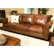 Paladia 4 Piece Leather Sofa Set In Rustic Brown Dcg S