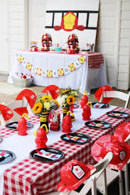 Firetruck Birthday Party Invitation - Crowning Details
