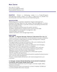 100 Assistant Project Manager Resume Creative Objective Download Plus