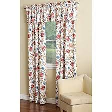 Jacobean Floral Curtain Fabric by Amazon Com Ellis Curtain Cornwall Jacobean Floral Thermal
