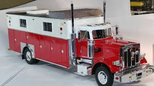 100 Model Fire Truck Kits Truck Rescue Body Semi 124 125 Scale Model Diorama 1