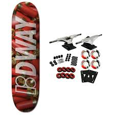 PLAN B Skateboard Complete WAY AMMO 8.0