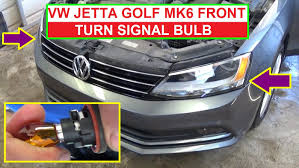 how to replace the front left or front right turn signal bulb on