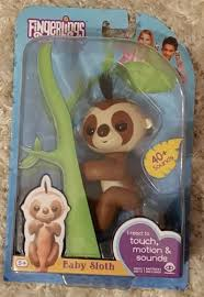 Wowwee Fingerlings Fingerling Baby Sloth And 32 Similar Items