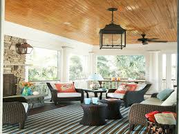 Screened In Porch Decorating Ideas by Decorated Porches Decorating Ideas Hgtv Screen Porch Covered