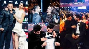 fare Awards 2015 Candid pics of Shahid Kapoor Varun Dhawan