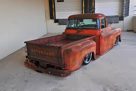 This 1958 Chevy Apache Is Rusty On The Outside And Ultramodern ... Big Tire Hotrod 1958 Chevrolet Apache Hot Rod Pickup Big Block 160520 001 001jpg 1955 Chevy Truck Handsome 3200 At Home 7_chevlestepside_pickupsrbehot_rod5___1956 Parts Blower Fat Hot Rod Fast Chevy Fleetside Wheels Boutique 1964 Promoted By The Fab Forums Fabrication Truck Network 1956 1957 1959 Radio Original Cameo 55 57 Dans Garage