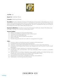 Hostess Job Description For Resume Resumes Air Sample