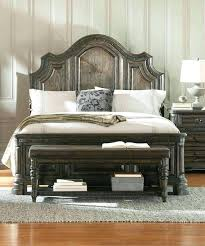 Spanish Style Bedroom Sets Rustic Wire Brushed Finish King Bed Furniture Hacienda