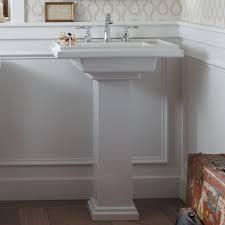 Kohler Bancroft Single Hole Pedestal Sink by Kohler Tresham Ceramic 30