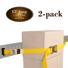 Manufacturer Direct! 2 E Track Ratchet Straps 2