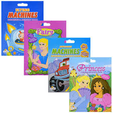 Jumbo Coloring And Activity Books With Stickers 14x18 In