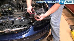 how to install replace headlight ford taurus 00 07 1aauto
