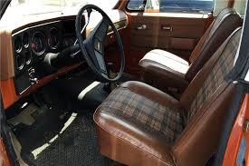 1975 CHEVROLET K5 BLAZER Interior Jimmy s