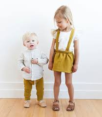 Childhoods Spring Clothing Line For Boys And Girls