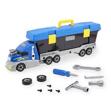 Just Like Home Workshop Build Your Own Truck Tool Set - Toys
