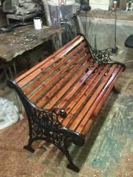 Plans To Build A Wooden Park Bench by Park Bench Rehab U201d Jbburrows U0027s Blog