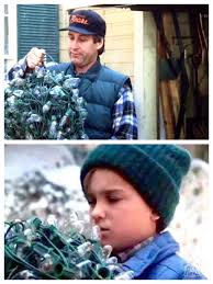 Griswold Christmas Tree Through Roof by Christmas Vacation 1989 Clark To Russ