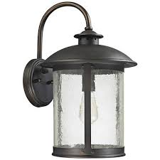 ambiance 9 1 2 h small bisque ceramic outdoor wall light 8r493