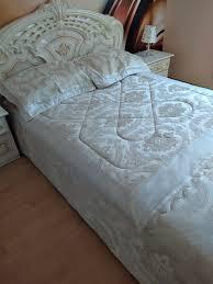 bettüberwurf tagesdecke decke für ein 140x200 bett schlafzimmer