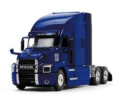 Www.scalemodels.de | MACK Anthem With Sleeper Cab, Cobalt Blue ...