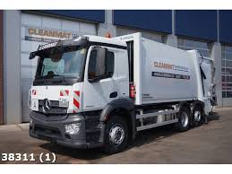 100 Mercedes 6 Wheel Truck Benz Antos 2533 Euro Stock Clean Mat S