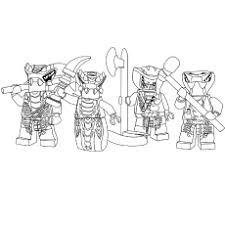 Ninjago Serpentine Coloring Pages
