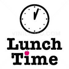 Wall Decal Lunch Time