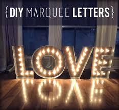 makin loooooove complete diy marquee letters evan katelyn