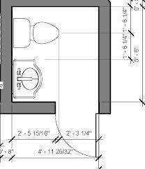 Small Powder Room Floor Plans