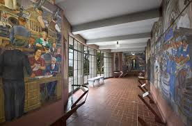 Coit Tower Murals Wpa by Coit Memorial Tower Architectural Rehabilitation Arg