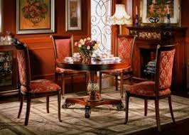Restaurant Walnut Luxury Dining Room Furniture 150cm Round Table Wooden