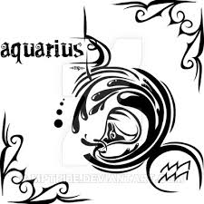 Zodiac Sign Tattoo Aquarius By MPtribe