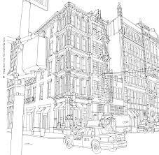 Soho New York In Fantastic Cities Image Via Chronicle Books