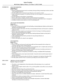 Housekeeper Resume Samples | Velvet Jobs Housekeeping Resume Sample Monstercom Description For Of Duties Hospital Entry Level Hotel Housekeeper Genius Samples Examples Free Fresh Summary By Real People Head 78 Private Housekeeper Resume Sample Juliasrestaurantnjcom The 2019 Guide With 20 Example And Guide For Professional Housekeeping How To Make