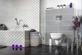 moderne badezimmer in schwarz und weiß stockfoto und mehr bilder architektur