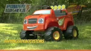 100 Monster Truck Power Wheels Phingerprintcustoms On Twitter Custom Blaze