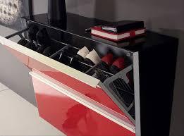 Simms White Modern Shoe Cabinet by Shoe Rack Cabinet Modern Childcarepartnerships Org