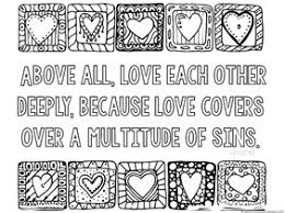 Love Bible Verse Coloring Pages Project Awesome Printable Bible