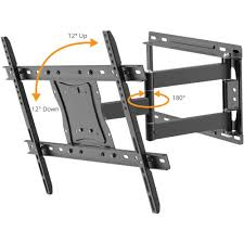 Swing Arm Curtain Rod Walmart by Full Motion Tv Wall Mount For 19