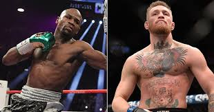 Conor McGregor Floyd Mayweather Hold Brash Press Conference