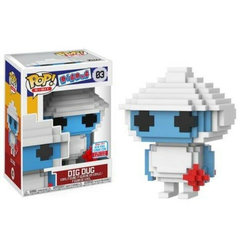 NYCC Comic Con 2017 Funko Pop Games 8 Bit Dig Dug Limited Edition