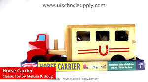 Horse Carrier By Melissa & Doug LCI-4097 - YouTube Gtin 000772037044 Melissa Doug Fold Go Stable Upcitemdbcom Toy Horse Barn And Corral Pictures Of Horses Homeware Wood Big Red Playset Hayneedle Folding Wooden Dollhouse With Fence 102 Best Most Loved Toys Images On Pinterest Kids Toys Best Bestsellers For Nordstrom And Farmhouse The Land Nod Takealong Sorting Play Pasture Pals Colctible Toysrus