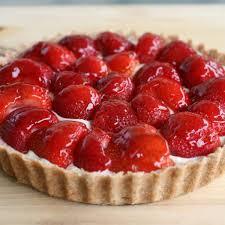 tarte aux fraises pate feuilletee recette tarte aux fraises 750g