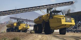 2018 Caterpillar 745C Offroad Dump Truck [ ADD-ON] - GTA5-Mods.com
