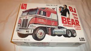 100 Bj And The Bear Truck AMT 1 25 Amp Kenworth Aerodyne Cabover For Sale Online
