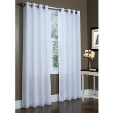 Sidelight Window Treatments Bed Bath And Beyond by Buy Voile Panels From Bed Bath U0026 Beyond